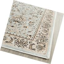 Safavieh Persian Garden Collection PEG607L Traditional Light Blue and Ivory Viscose Runner
