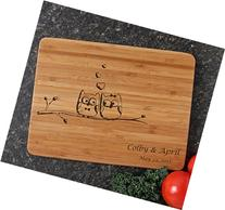 Personalized Cutting Board, Custom Engraved Bamboo Cutting