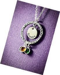 Personalized Eternity Necklace - DII - Grandma Gift -