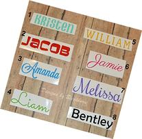 Personalized Name Decal / Sticker for Car, Laptop, Phone,