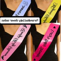 Personalized baby shower sash - mom to be / mommy to be sash