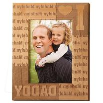 Personal Creations Personalized We Heart Vertical Wood Frame