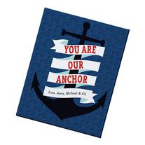 Personal Creations Personalized You Are The Anchor Canvas -