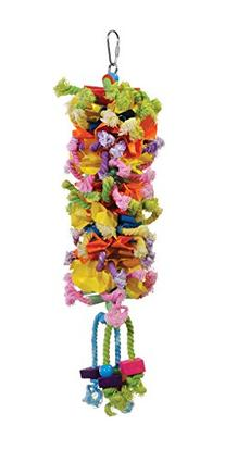 Prevue Pet Products 62606 Calypso Creations Club Bird Toy