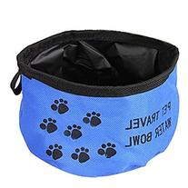 Pet Dog Cat Collapsible Foldable Camping Travel Bowl Water