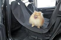 Paws & Pals Pet Dog Car Seat Cover for Rear Bench Seat -