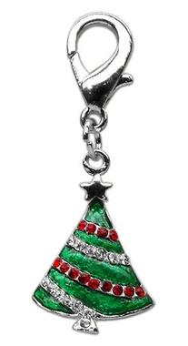 Mirage Pet Products Holiday lobster claw charms / zipper