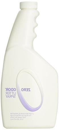Zero Odor Litter Box Odor Eliminator, Trigger Spray, 16