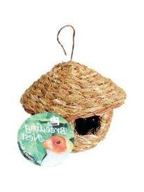 Prevue Pet Products BPV1157 Round Natural Fiber Finch