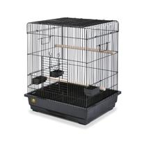 Prevue Pet Products Square Roof Parrot Cage, Black
