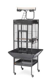 Prevue Pet Products Wrought Iron Select Bird Cage Black