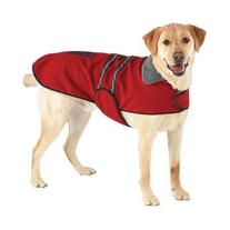 OCSOSO Pet Clothes Winter Dog Coat Jacket Reflective XXL Red