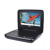"""Philips PET741M BLK 7"""" Widescreen LCD Portable DVD Player w"""