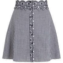 Miss Selfridge PETITE Gingham Skirt