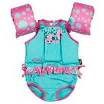 PFD Puddle Jumper Suit Girl Fish C004, Female, One Size Fits