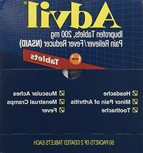 PFYBXAV50 - Advil, 2 Tablets per Pack, 50 Packs per Box