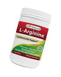 Best Naturals Pure Pharmaceutical Grade Free Form L-Arginine