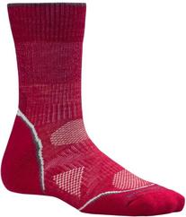 Smartwool PhD Outdoor Light Crew - Women's Persian Red Large