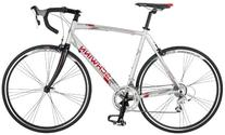 Schwinn Men's Phocus 1600 700C Drop Bar Road Bicycle, Silver