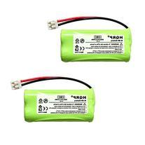 HQRP 2 pack Phone Battery compatible with ATT LUCENT / VTECH