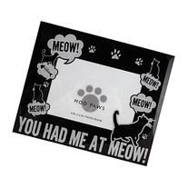"MODPAWS ""You Had Me at Meow"" Photo Frame"