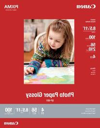 Canon Photo Paper Glossy Letter Size, GP601, 100 Sheets