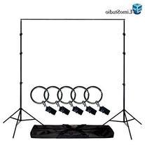 LimoStudio Photo Video Studio 10Ft Adjustable Muslin
