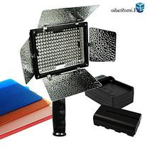 LimoStudio 600W Photography Triple Photo Umbrella Light
