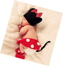 Amariver Photography Prop Mickey Cute Crochet Knitted Baby