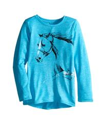 Carhartt Kids - Photoreal Horse Force Tee   Girl's T Shirt