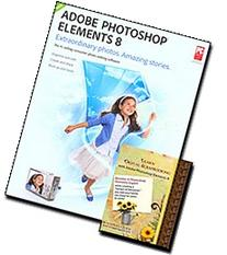 Adobe Photoshop Elements 8 with Learn Digital Scrapbooking