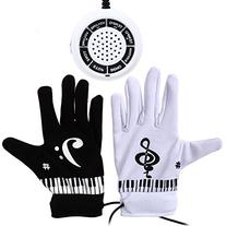 Whitelotous Piano Glove with Musical Fingertips Electric