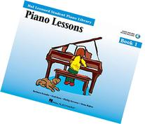 Piano Lessons Book 1 - Book/Enhanced CD Pack: Hal Leonard