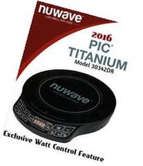 NuWave PIC 2016 Titanium Model 30342DR Precision Induction