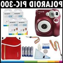Polaroid PIC-300 Instant Film Analog Camera  with  Polaroid