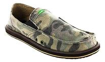 Sanuk Pick Pocket Mens Shoes - 10.0/Camouflage