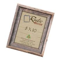 8x10 Picture Frames -Signature Barnwood Reclaimed Wood Photo