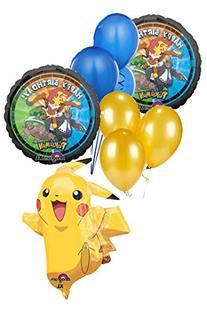 Anagram International 2946001 Pikachu Shape Balloon Pack, 31