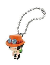 One Piece Pinched Mascot Keychain
