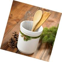 Pinecone Utensil Holder by Persis Clayton Weirs