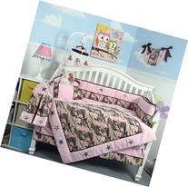 SOHO Pink Camo Baby Crib Nursery Bedding Set 13 pcs included
