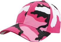 Rothco Low Profile Cap, Pink Camo