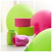 Hot Pink & Lime Green Decorating Kit