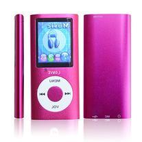 Lonve Pink 8GB MP4/MP3 Player 1.8'' Screen MP4 Music/Audio/