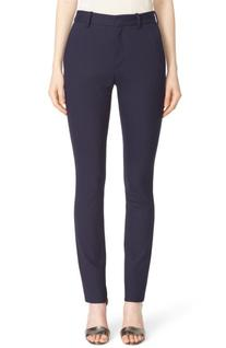 Women's Victoria Beckham Pinstripe Stretch Cotton Trousers