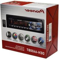 Pioneer DEH-6400BT CD receiver with AM/FM tuner, built-in