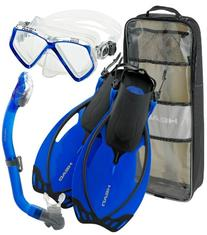 Head by Mares Junior Mask Fin Snorkel Set, with Snorkeling