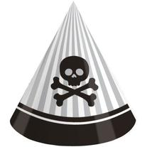 Creative Converting Pirate Parrty Birthday Party Hats, 8
