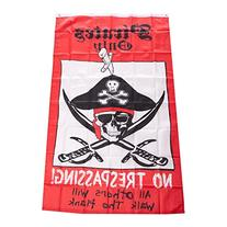 3' x 5' Pirates Only Flag