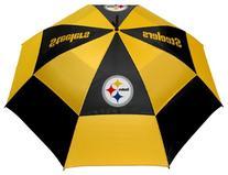 "Team Golf NFL Pittsburgh Steelers 62"" Golf Umbrella with"